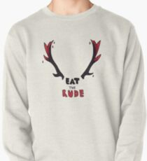 Hannibal - Eat The Rude Bloody Antlers Pullover