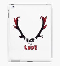 Hannibal - Eat The Rude Bloody Antlers iPad Case/Skin