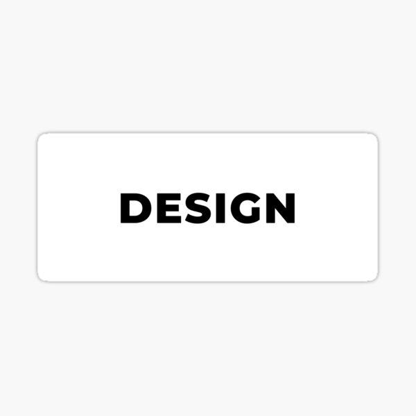 Design (Inverted) Sticker