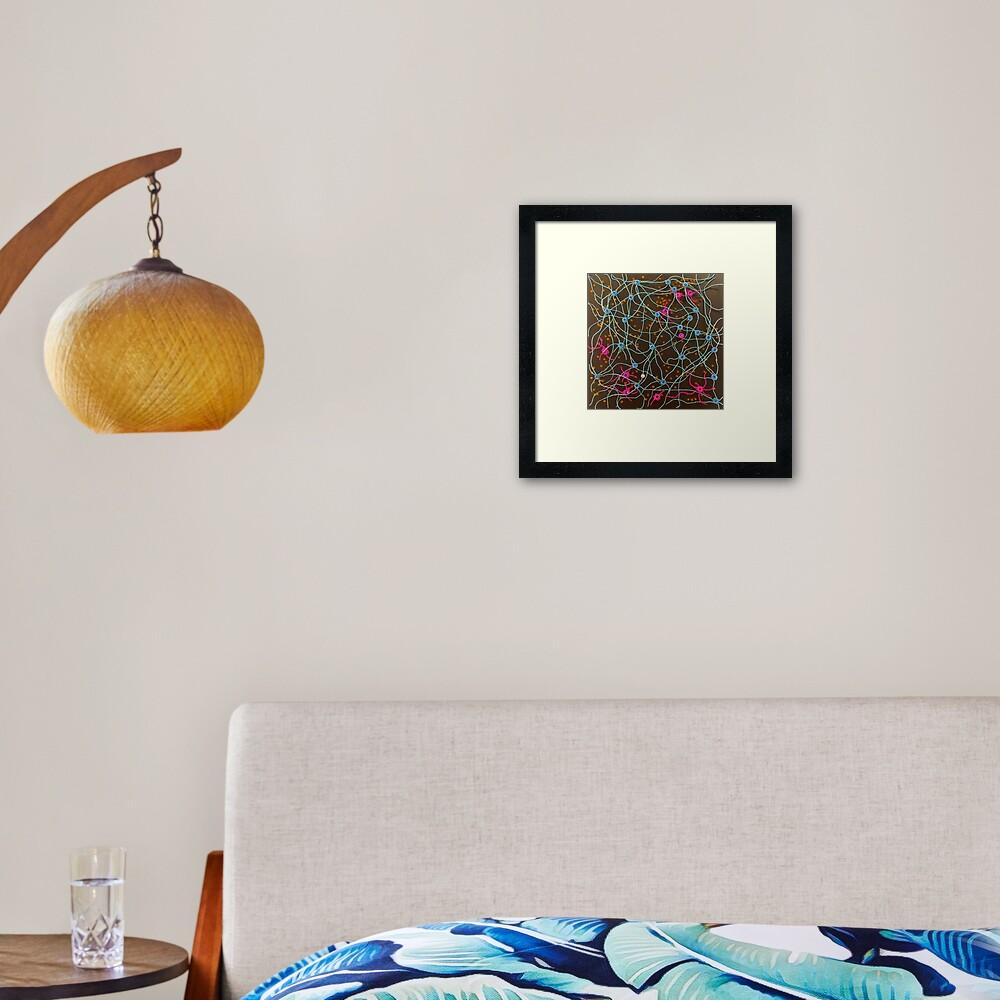 Lost in Manhattan Framed Art Print
