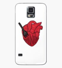 Hannibal - Fork In Heart Case/Skin for Samsung Galaxy