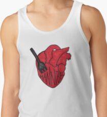Hannibal - Fork In Heart Men's Tank Top