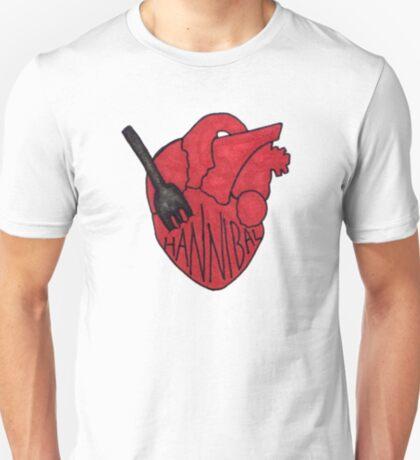 Hannibal - Fork In Heart T-Shirt