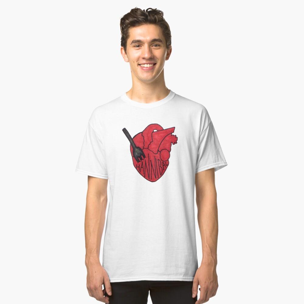 Hannibal - Fork In Heart Classic T-Shirt