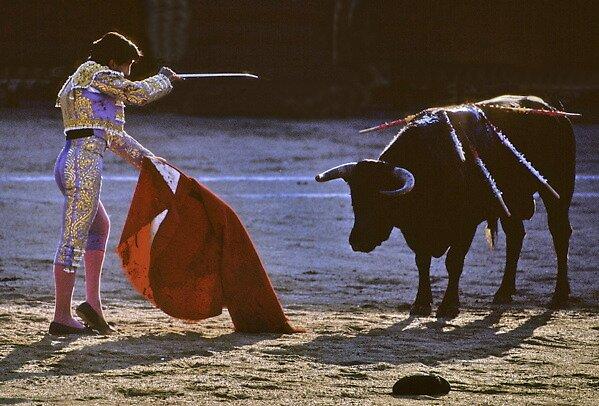 Bullfighting−9、SPAIN by yoshiaki nagashima