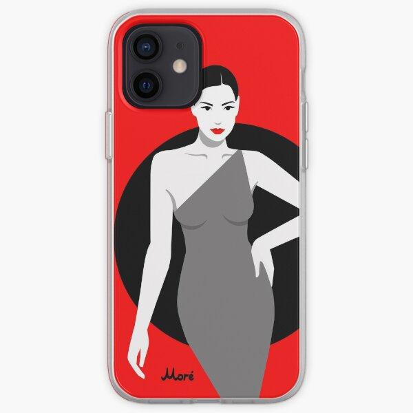 """""""Red Passion"""" von Ekaterina Moré / Ekaterina Moré - Handyhülle für iPhone iPhone Flexible Hülle"""