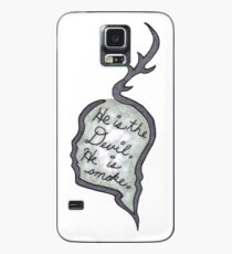 Hannibal - He Is the Devil, He is Smoke Case/Skin for Samsung Galaxy