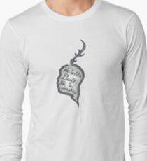 Hannibal - He Is the Devil, He is Smoke Long Sleeve T-Shirt
