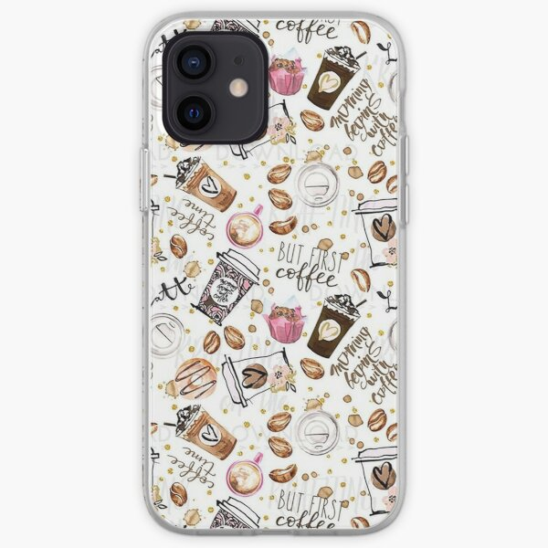 coffee iPhone Soft Case