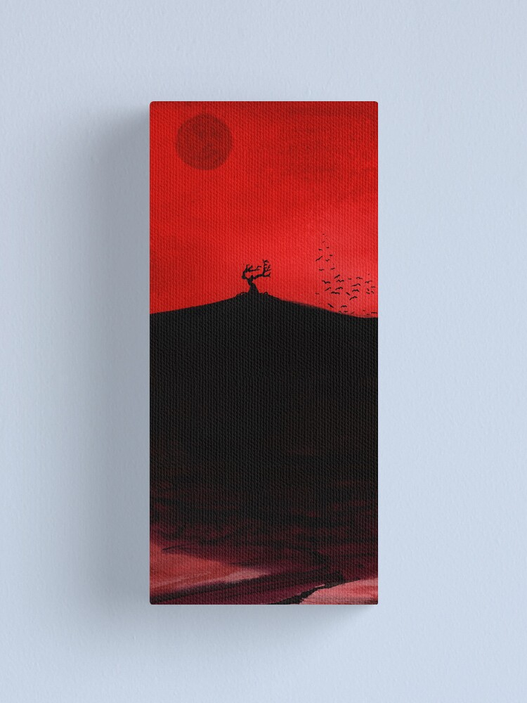 Alternate view of Red Dawn Canvas Print
