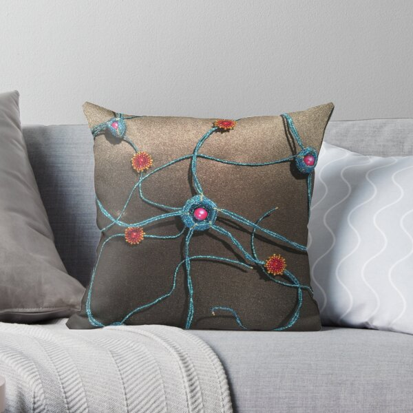 The Internal Storm Throw Pillow
