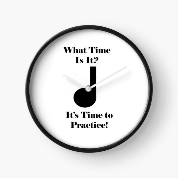 It's Time to Practice! Clock
