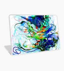 liquid moving elements Laptop Skin