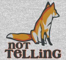 What Does the Fox Say - Ylvis Parody - Fox Say Meme - What the Fox Say - Fox Say - Not Telling One Piece - Short Sleeve