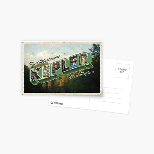 VW es una postal antigua de la ciudad ficticia de Kepler Postal