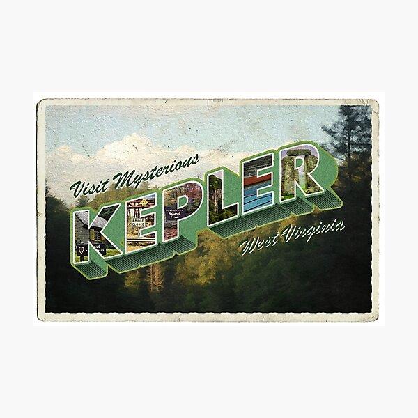 Visit Kepler, VW Photographic Print
