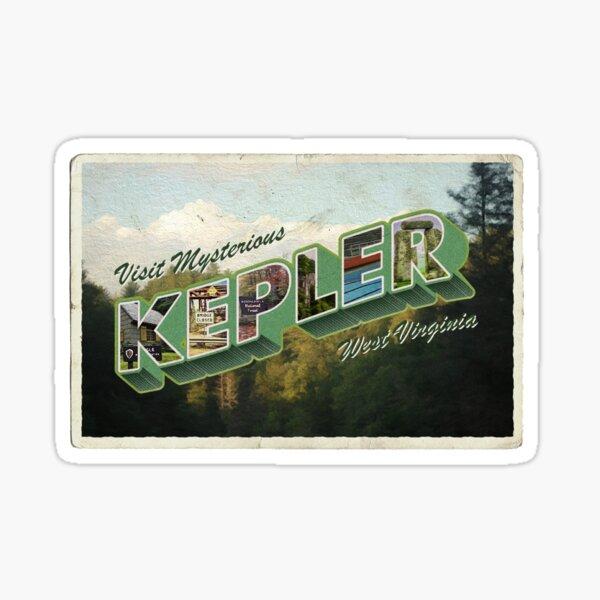 Visit Kepler, VW Sticker