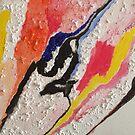 Super  sonic swallow . Painting . by Dr.Andrzej Goszcz  by © Andrzej Goszcz,M.D. Ph.D