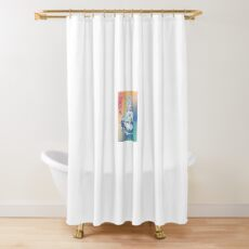 Kids See Ghosts Shower Curtain