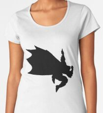 Black Bat-Dab Women's Premium T-Shirt