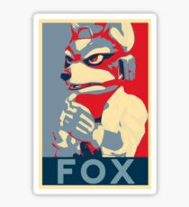Fox Gives Us Hope Sticker