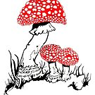 Amanita Muscaria by scott myst
