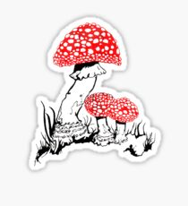 Amanita Muscaria Sticker