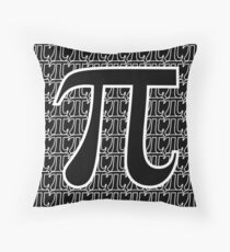 Pi 2 (dark) Throw Pillow