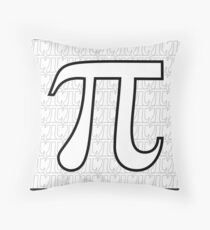 Pi 2 Throw Pillow