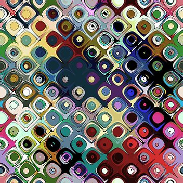 Colorful Circles Pattern by perkinsdesigns