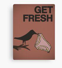 Get fresh... Canvas Print