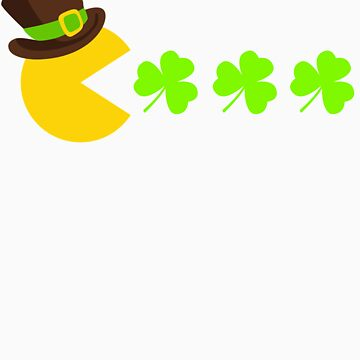 Video Gamer St Patricks Day Apparel Lucky Gaming Saint Patricks Day by doggopupper