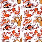 Koi Fish Pattern by EllenorMererid
