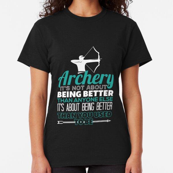 I Love Archery Kids // Childrens T-Shirt -8 Colours Present Gift Equipment