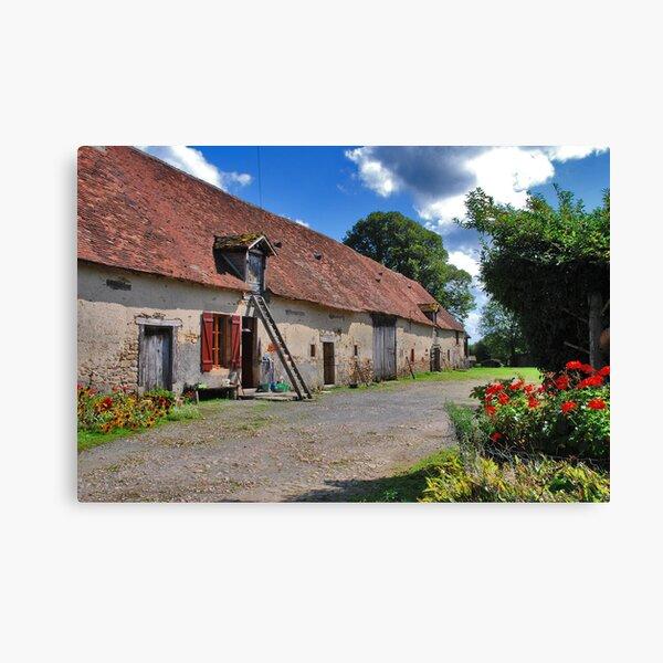 A French Farm Canvas Print