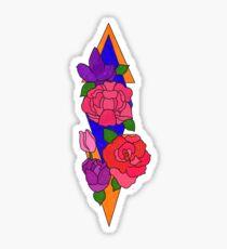 Blumentätowierung Sticker