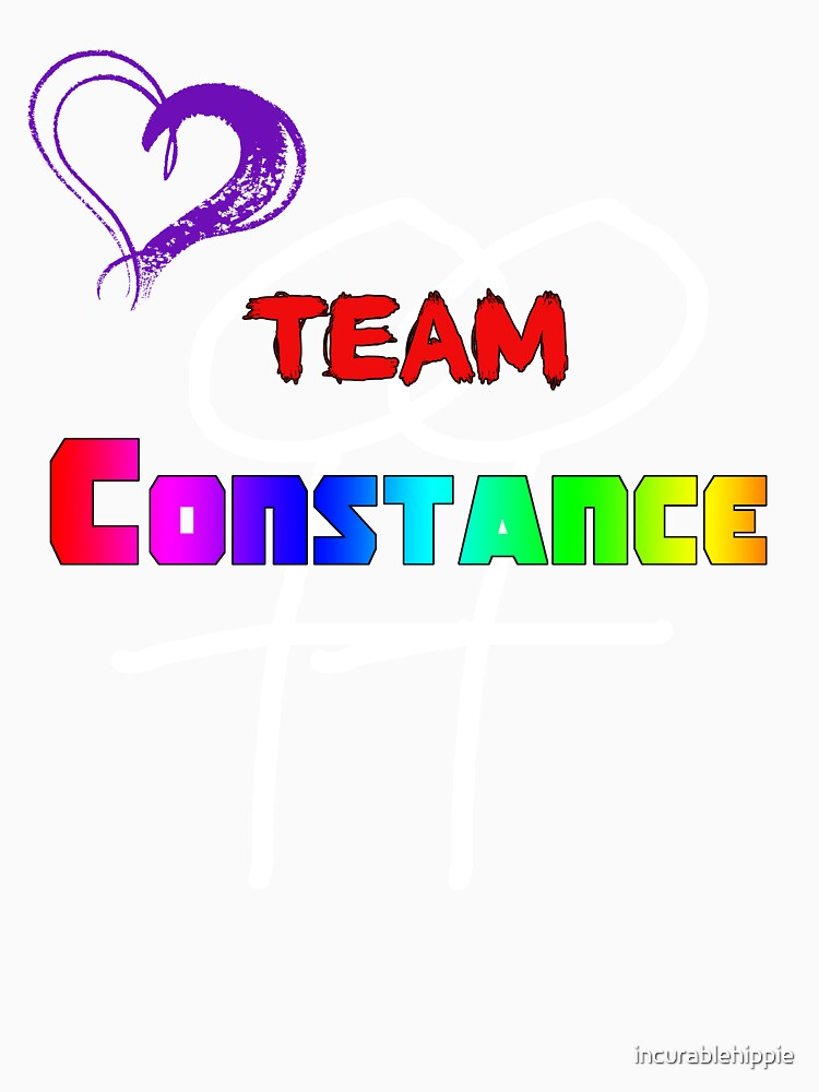 Team Constance! by incurablehippie