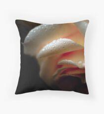 drizzle kiss'd Throw Pillow