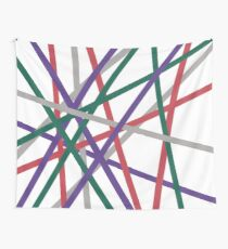 line fractions Wall Tapestry