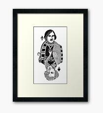 Gogol vs Pushkin Framed Print