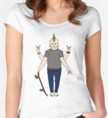 Vishnu Punx. Women's Fitted Scoop T-Shirt