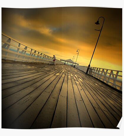 Shorncliffe Pier #2 Poster