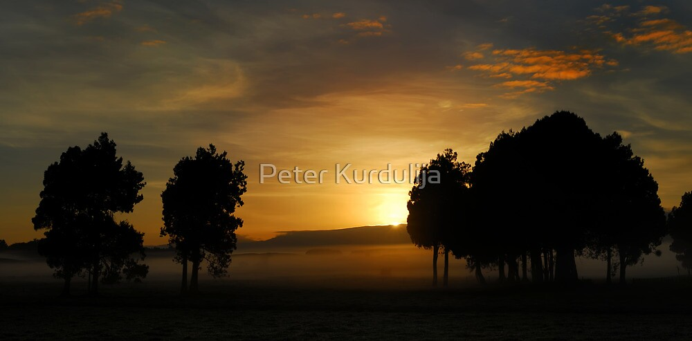 Across The Shores of a Sea Of Fog by Peter Kurdulija