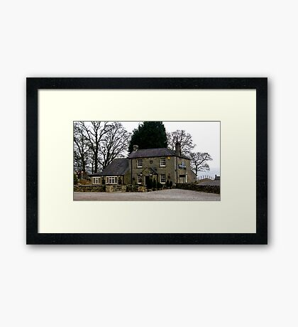 The Bridge Inn - Wath Framed Print