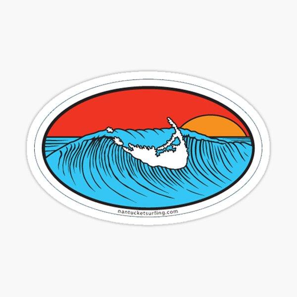 Nantucket Surf Sticker