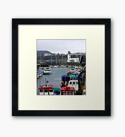 Scarborough Harbour #1 Framed Print