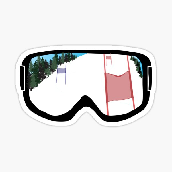 Race Day Goggles Sticker