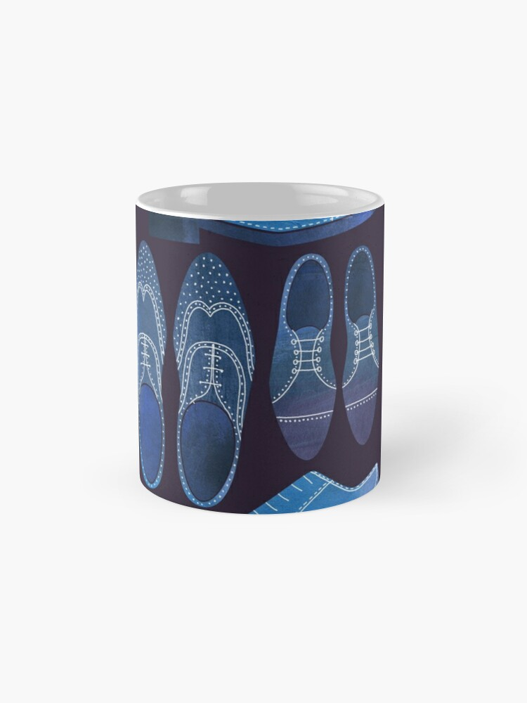 Alternate view of Blue Brogue Shoes for Hipsters and Gentlemen Mugs