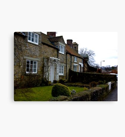 Helmsley Cottages #1 Canvas Print