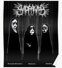 SAD PANDA - Logo and Band photo... Poster